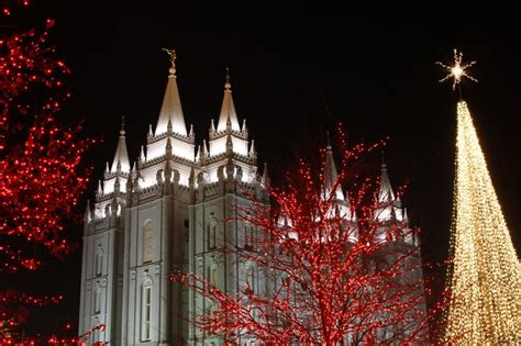 salt lake temple square lights temple square lights 28 images mormonism in pictures