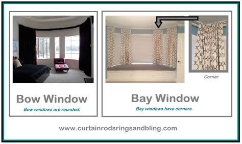 bay bow windows difference between bay or bow windows bendable rods