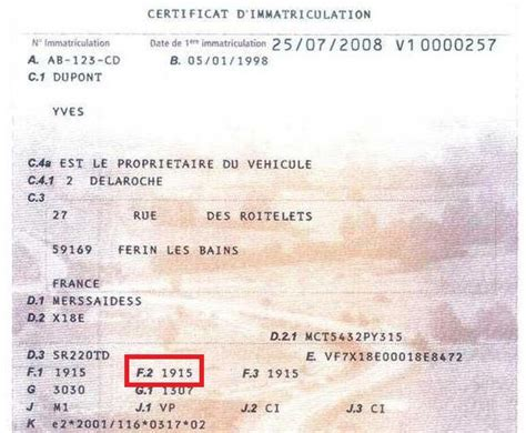 Modification Nom Carte Grise by Changer De Carte Grise Carte Grise Express