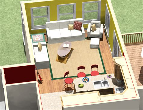 1 Bedroom House Floor Plans two story addition