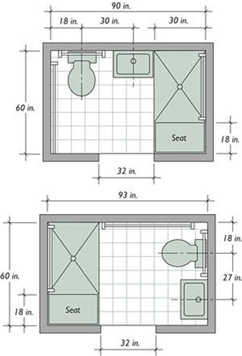 tiny bathroom floor plans best 20 small bathroom layout ideas on tiny