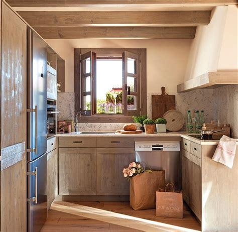 cocinas de co rusticas las 25 mejores ideas sobre peque 241 as cocinas r 250 sticas en