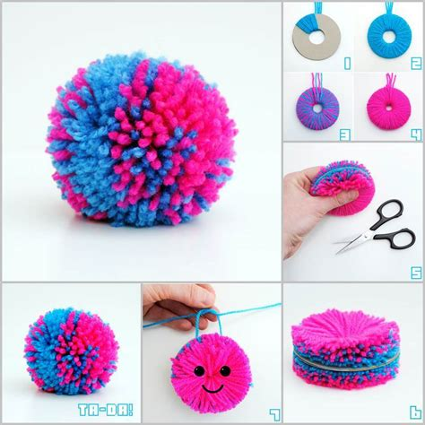 creative craft ideas creative ideas diy easy yarn pompoms
