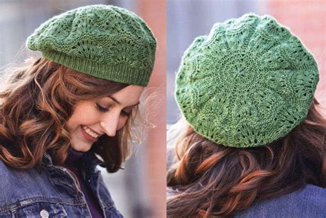 how to knit a beret knitting a beautiful beret