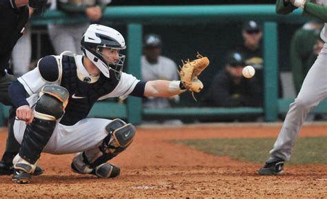 what do the in a catcher penn state baseball catchers are ok with splitting time