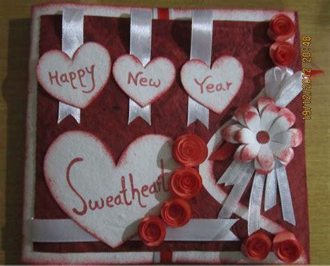 new year card handmade lina s handmade cards new year card