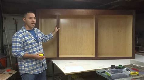 How To Build Kitchen Cabinets Video how to build your own kitchen cabinets part 4 youtube