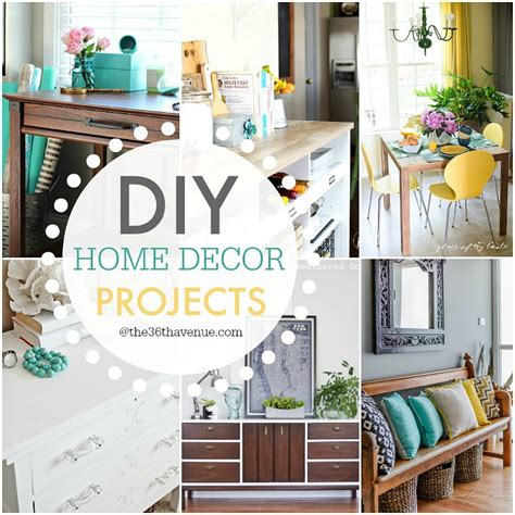 diy home decor project ideas diy home decor projects and ideas the 36th avenue