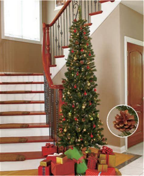 7 foot slim pre lit trees lakeside collection