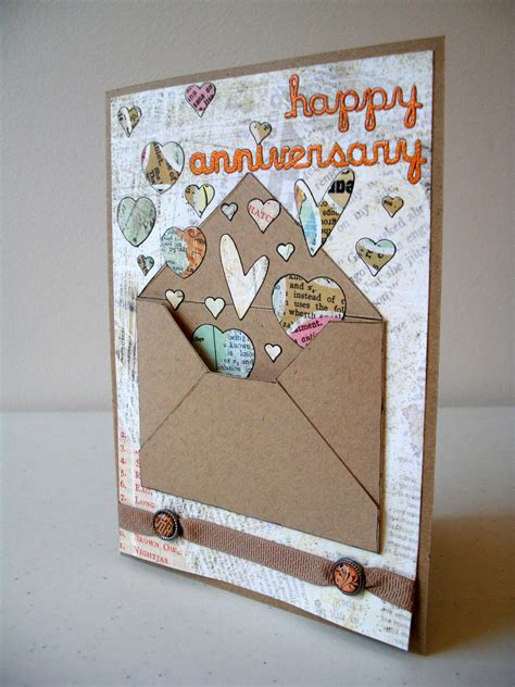 anniversary card ideas scrapper emily anniversary card