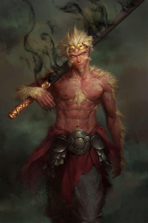 monkey king monkey king enforcer 12 on artstation at https www