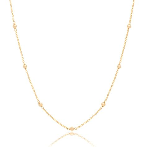 pearls with gold delicate gold and pearl chain necklace 24in necklace 14k