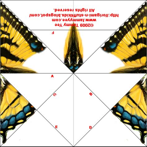 printable for origami origami n stuff 4 origami swallowtail butterfly