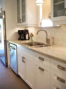 white kitchen cabinets with granite countertops kashmir white granite countertop design ideas