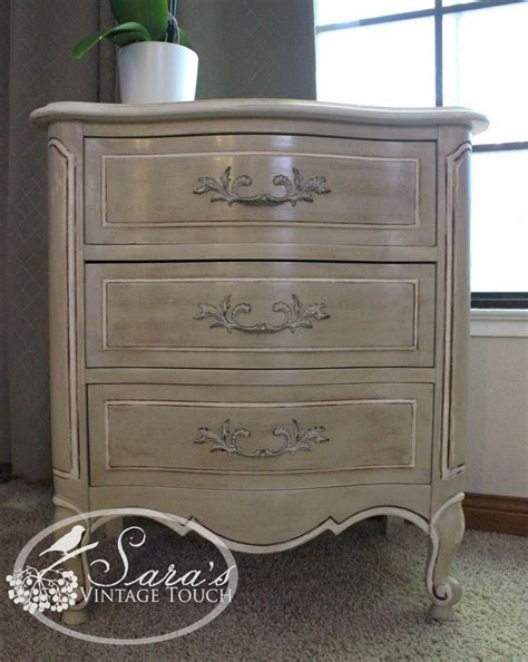 chalk paint country grey best 20 refinished nightstand ideas on