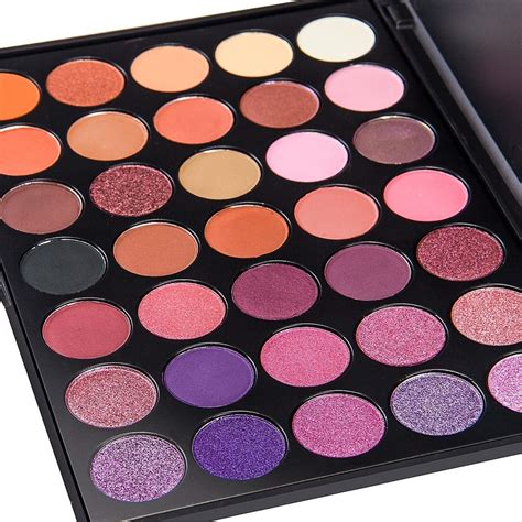 makeup palette de lanci 35 color eyeshadow makeup palette waterproof