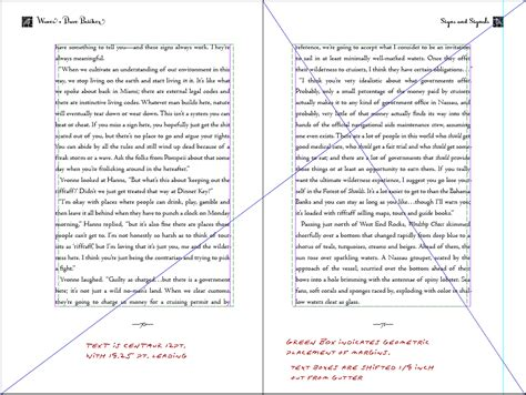 picture book page layout book design basics part 1 margins and leading