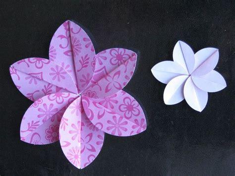 plumeria dollar origami 25 best ideas about easy origami flower on