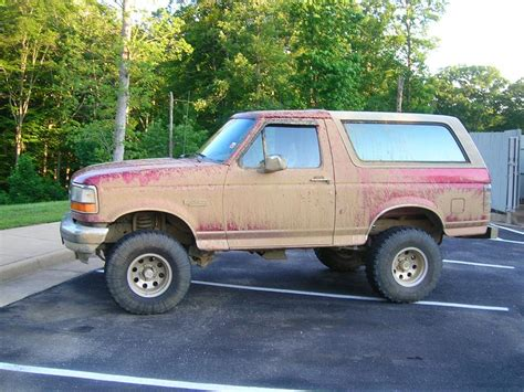 95 Ford Bronco by 95 Ford Bronco Roof Rack