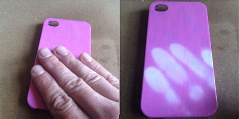 cool craft for cool craft ideas heat sensitive cover on the phone with