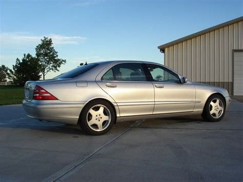 2000 Mercedes S500 by 2000 Mercedes S500 For Sale