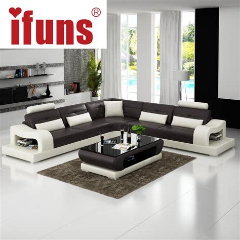 grey leather living room furniture popular leather corner chaise buy cheap leather corner
