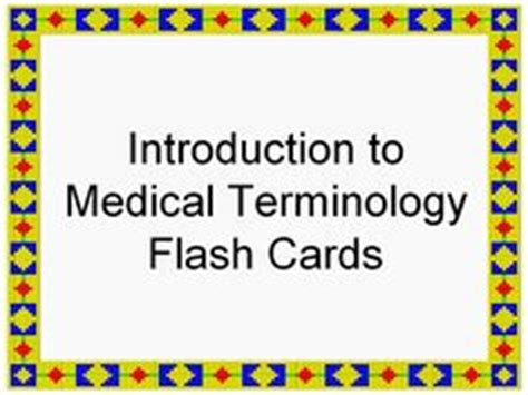 how to make terminology flash cards how to build your toolbox of terminology