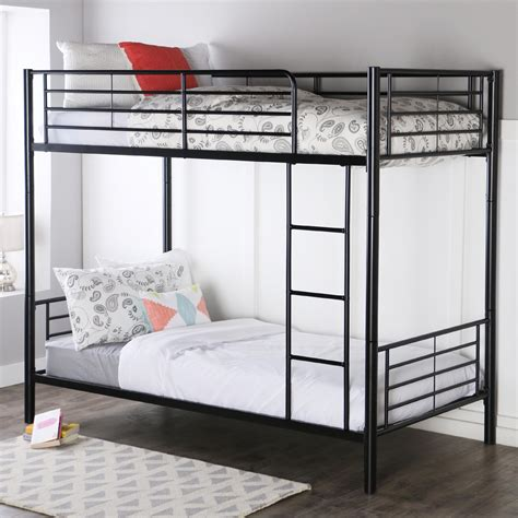 pictures of a bunk bed walker edison metal bunk bed