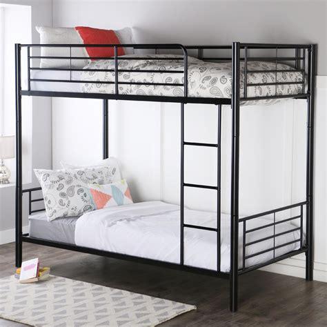 to bunk bed walker edison metal bunk bed