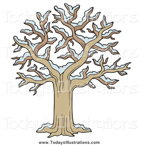 tree with snow clipart of a bare tree with snow by visekart 3771