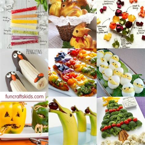 healthy food crafts for 12 foods for mostly healthy crafts