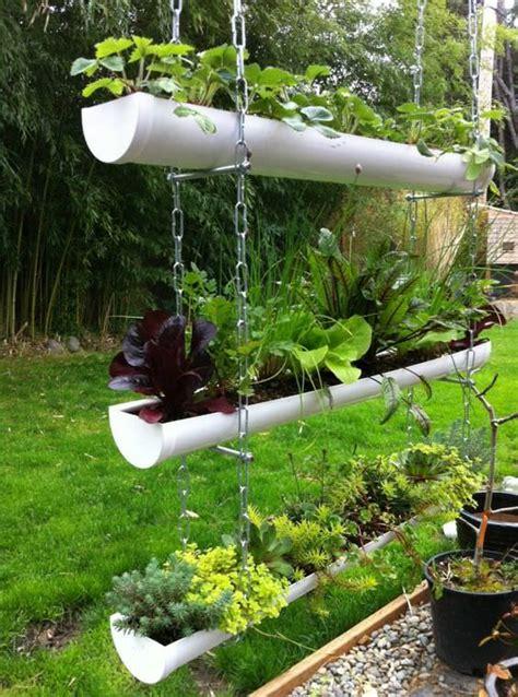 diy flower garden 20 easy diy gutter garden ideas garden decor 1001 gardens