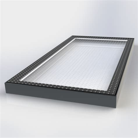 flat glass flat glass walk on rooflight square rectangular