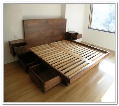 platform bed frames king platform bed frames selections homesfeed