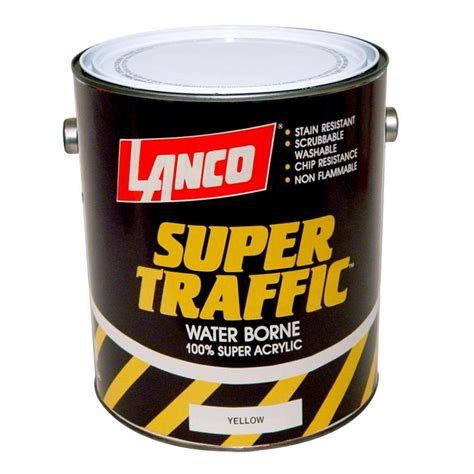 home depot yellow traffic paint lanco traffic 1 gal yellow paint tp805 4 the home