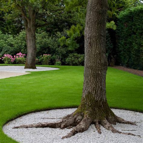 base tree casagiardino pea gravel base driveway oak use