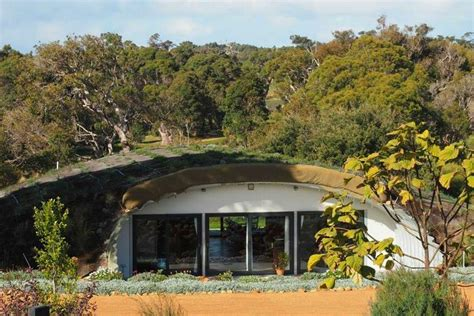 this earth sheltered australian hobbit home stays cozy all