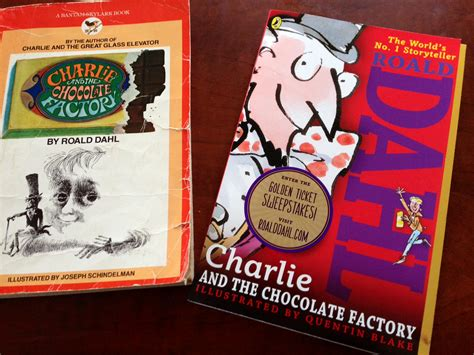 pictures of and the chocolate factory book which is better the or the book and the