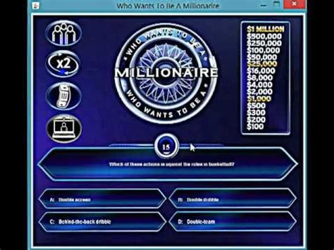 who wants to be a millionaire java game youtube