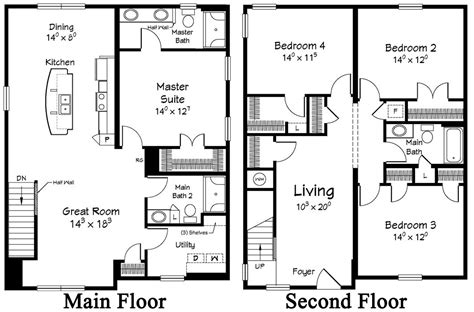 2 story house floor plans restore the shore collection by ritz craft custom homes