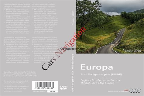 Audi Navigation Dvd by Audi A3a4a6 Western Central Europe Dvd1 20172017 Rns E