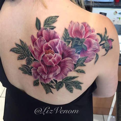 beautiful peony flowers hebrew tattoo jewish tattoo