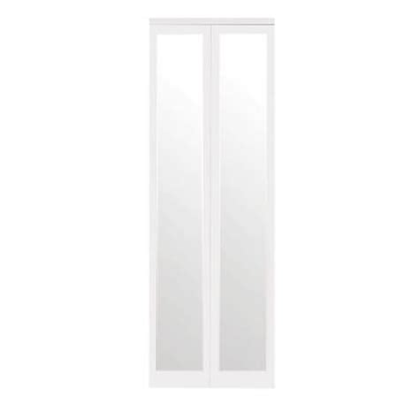 home depot mirrored closet doors impact plus 24 in x 80 in mir mel mirror solid