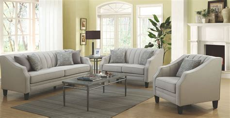 grey living room furniture set loxley grey living room set 551141 coaster furniture