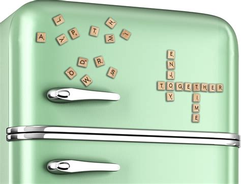 scrabble magnets scrabble magnetic refrigerator tiles 187 gadget flow