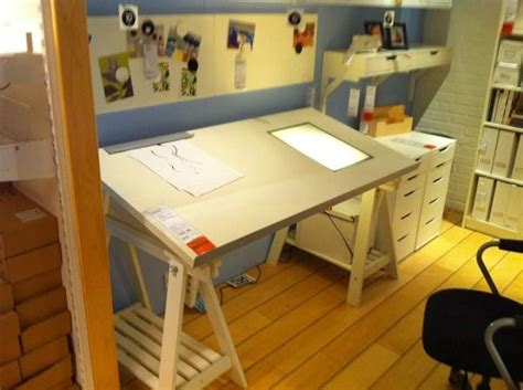 ikea drafting table with light box drawing table with light box ikea drafting table with