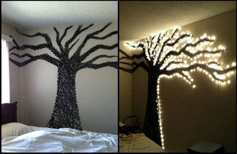 wall string lights how to create beautiful 3d effects and looks on your wall