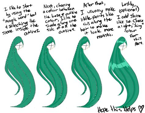 how to shade hair hair shading for winxthinkpink by angecondabite on deviantart