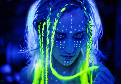 glow in the paint makeup kali incarnation 3 by elipa on deviantart the glow in
