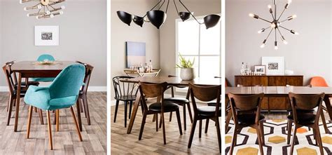 mid century modern dining room trend alert mid century modern furniture and decor ideas